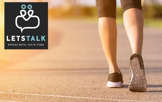 MENTAL HEALTH WALKATHON ... Walk the Walk for Let's Talk                           Colac Otway
