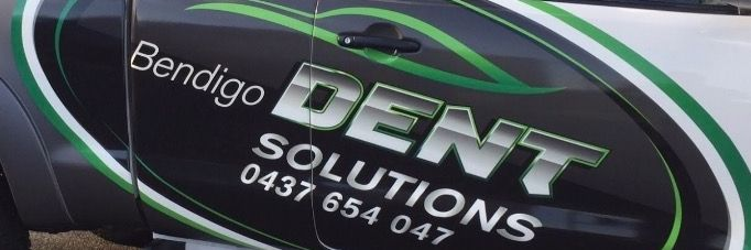 Bendigo Dent Solutions...Vehicle Wrap