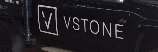 V STONE... Vehicle Signage