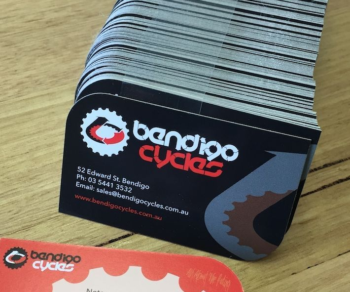 Bendigo, Cycles, Business, Cards