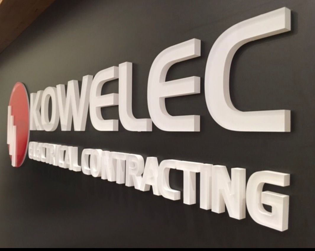 3D Lettering, Logos, Reception Signage, Acrylic Letters, Bendigo Business Signage, Mint Signs,