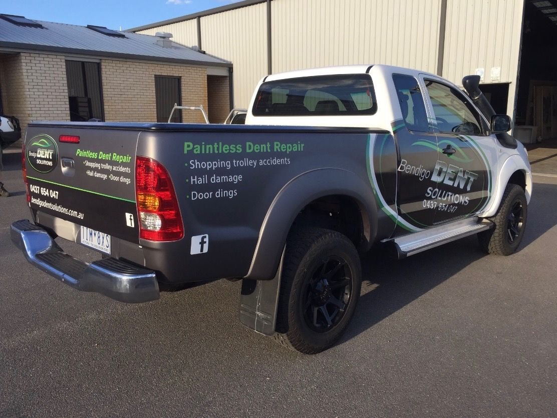 Vehicle Wrap, Vinyl, Avery Supreme, 3M Vinyl, Digital Print, Mint Signs, Bendigo Signwriters