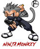Ninja Monkeys Logo