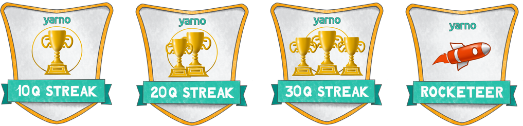 yarno badges