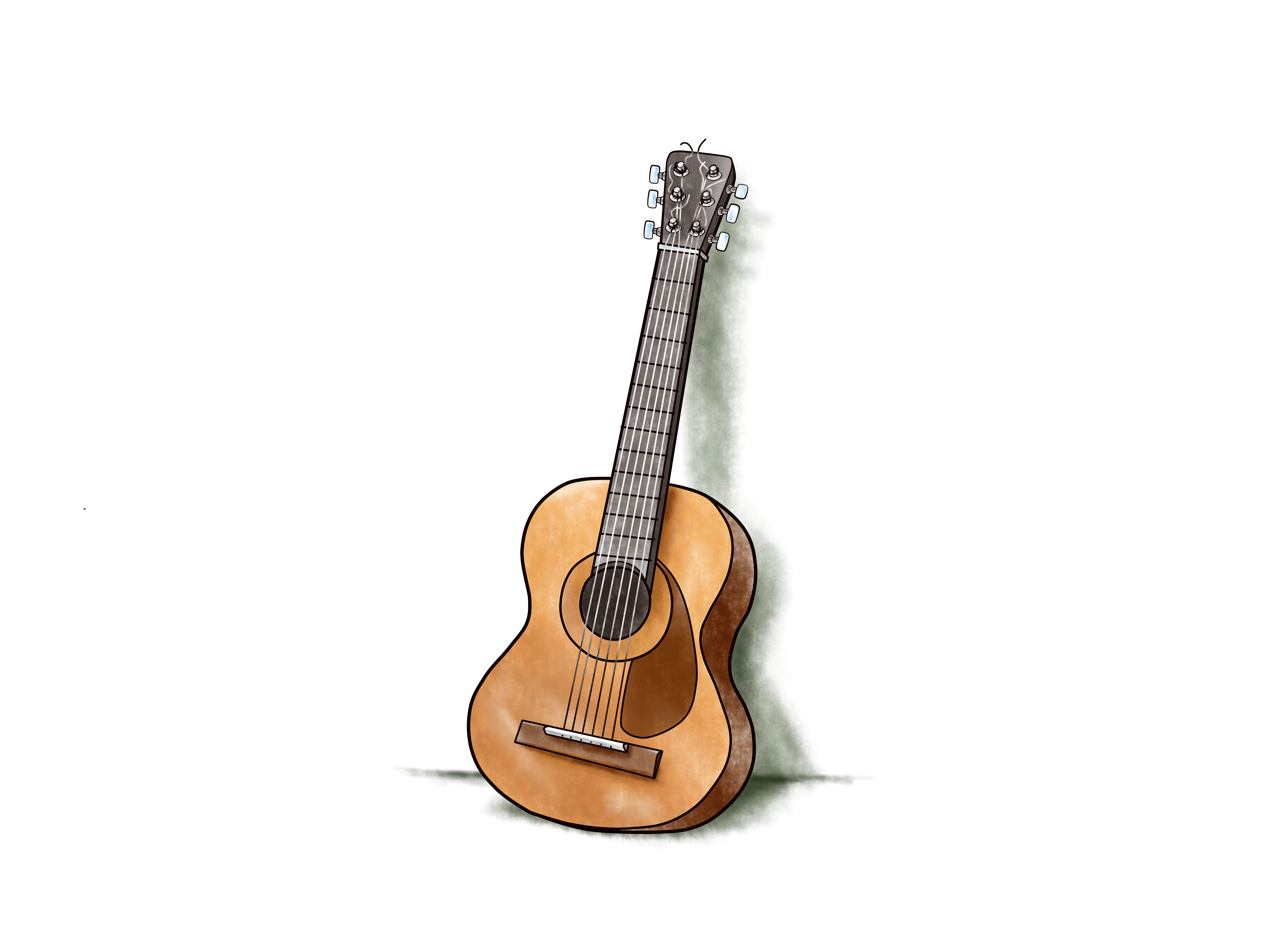 Learning guitar with learning science