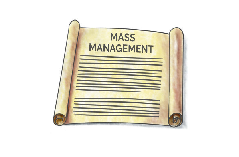 Mass management standards – the paperwork you need