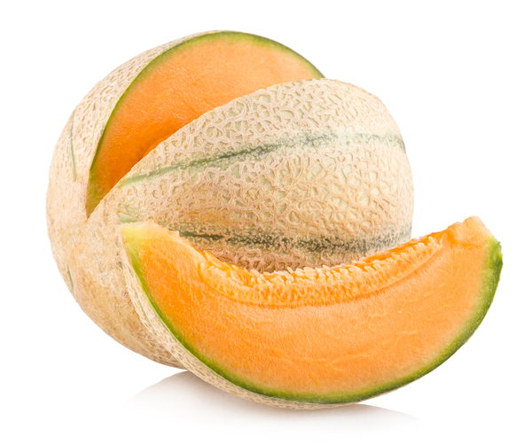 Whole Cantaloupe Cut In Half Delivered Yourgrocer 1 serving = 150 g (1/4 medium). yourgrocer