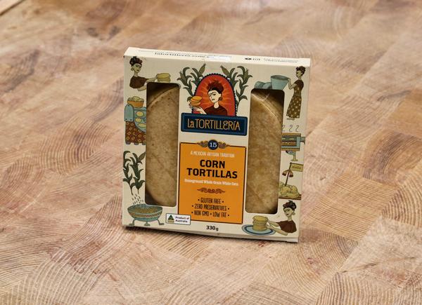 La Tortilleria Corn Tortillas 15pk {Victoria}