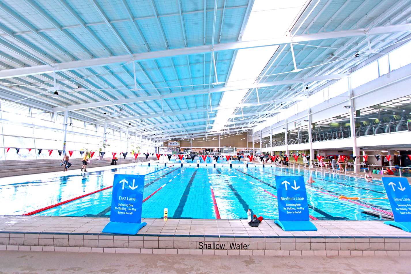 50 metre pool at Casey ARC