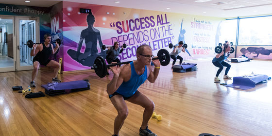 Group Fitness weights class