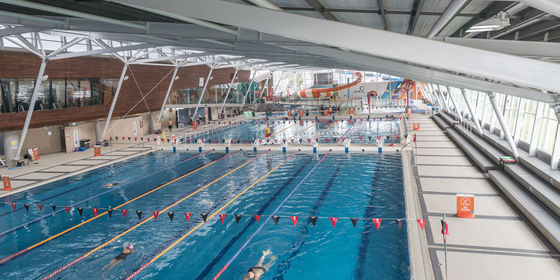 Swimming pool at Casey RACE