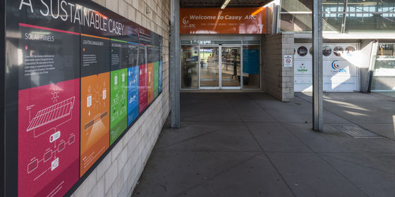 Casey ARC entrance