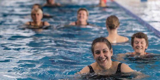 Womens swimming