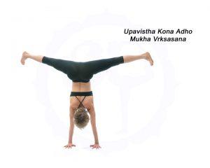 Bianca Machliss in Upavistha Kona Adho Mukha Vrksasana