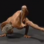 Simon Borg-Olivier in Urdhva Yoga Dandasana