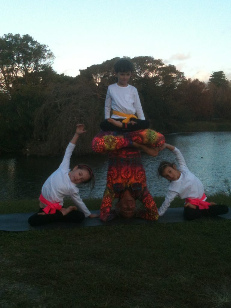 Simon Borg-Olivier Kids yoga