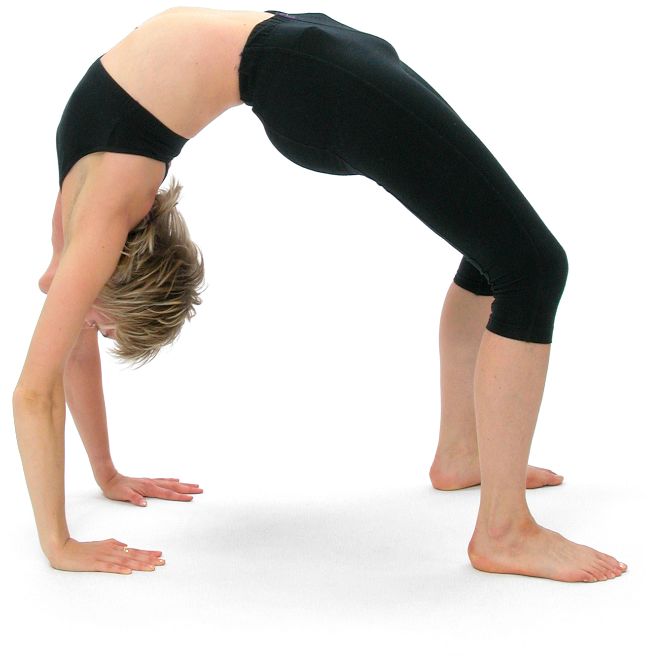 Figure 11: Bianca Machliss in Urdhva Dhanurasana ('Inverted wheel posture') (photo courtesy Alejandro Rolandi)