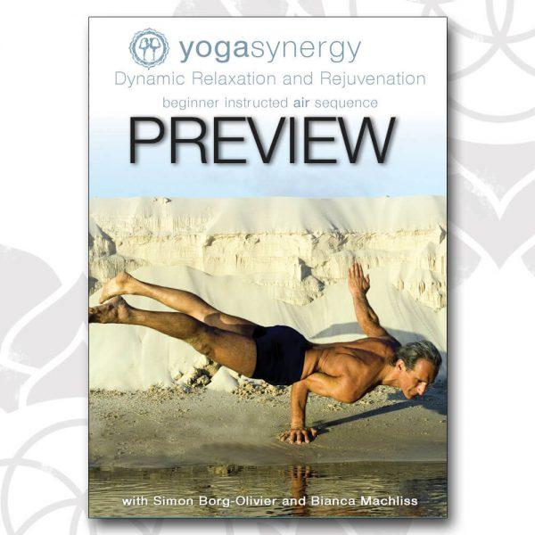 Yoga Synergy Beginner Air Sequence