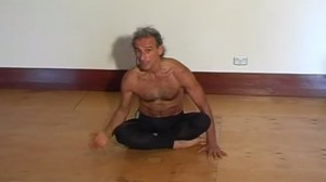 Simon teaching Vinyasa