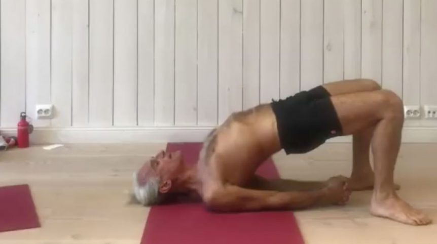 What You Need To Know About Shoulder Stands With Simon Yoga Synergy