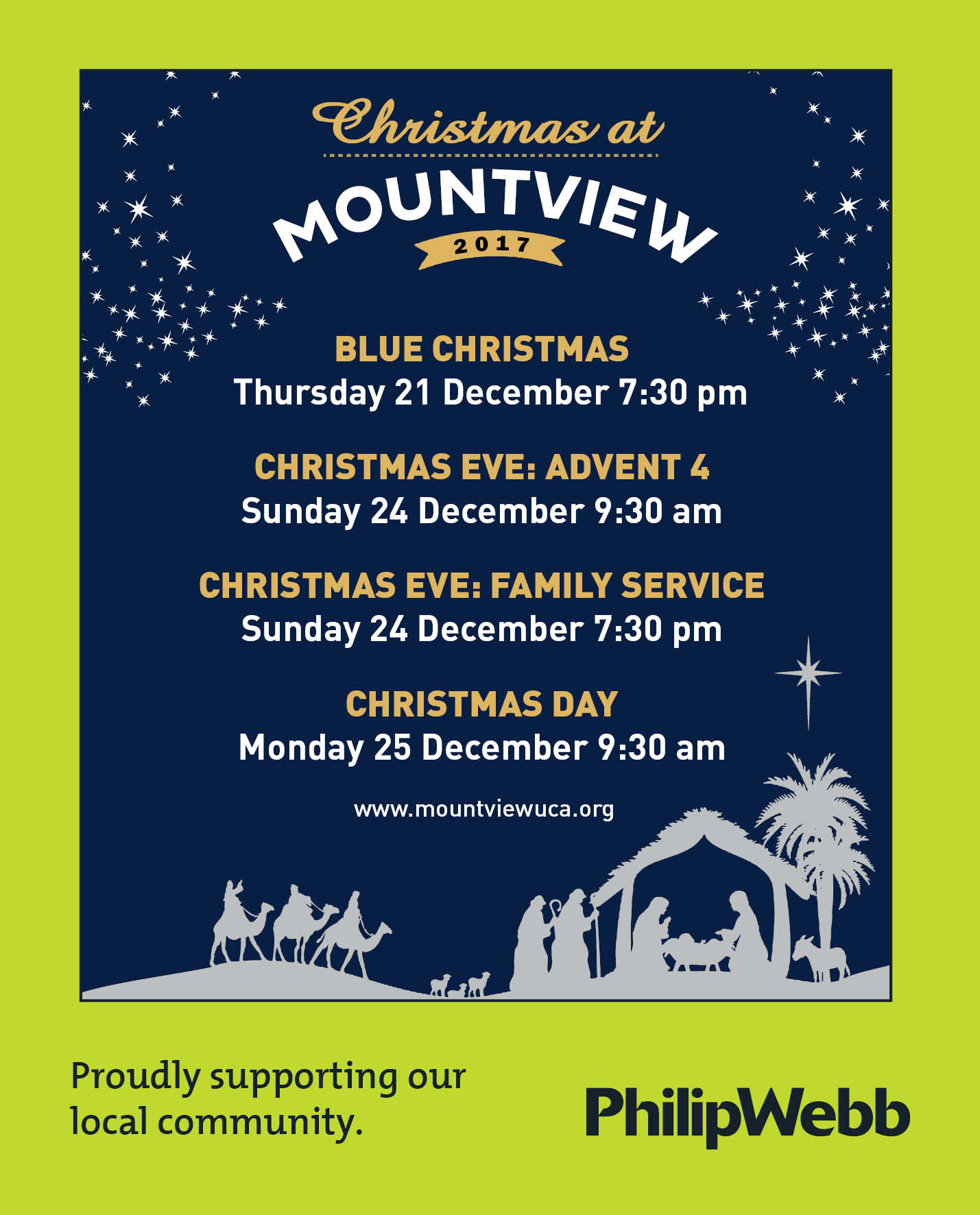 Christmas at Mountview