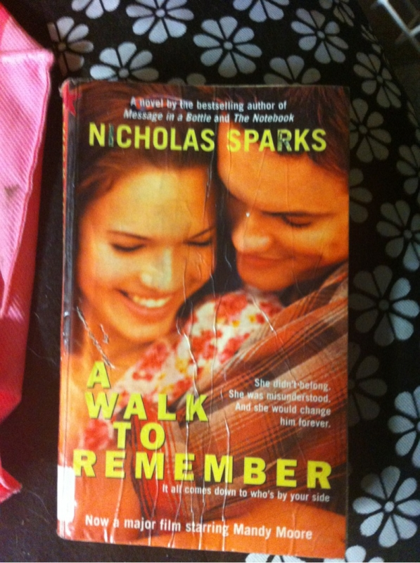 a walk to remember book report