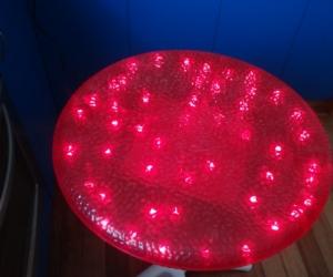 Fairy lights side table