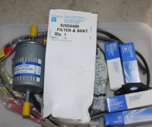 JS2 2.2l Fuel filter and spark plugs