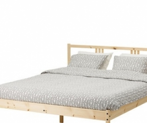 Ikea double bed frame and base