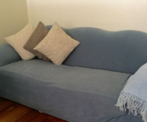 SOFA SET - 3 SEATER COUCH AND ARM CHAIRS