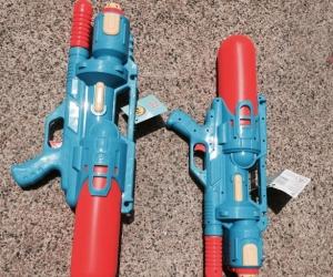 Two water guns