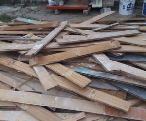 Hardwood Flooring (damaged) / Firewood