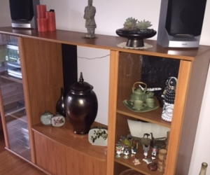 Timber TV - Wall unit