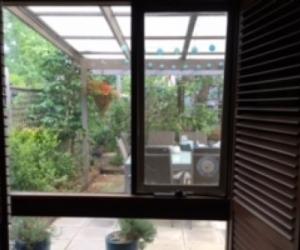 Timber framed windows