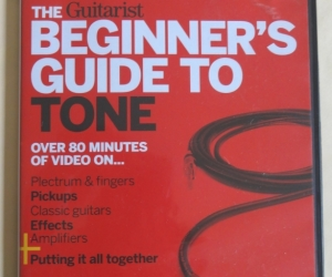 guitar DVD that is a guide to guitar tone. Came free with a magazine