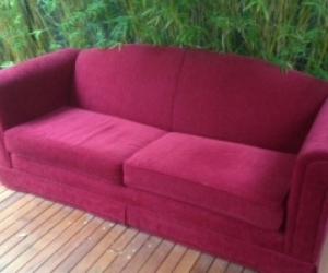 Sofa three seater - stylish and sturdy