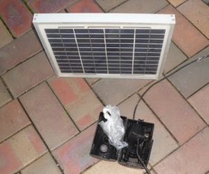 Solar Panel and Pump- Pump not Working