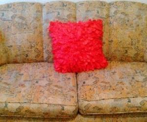 Quaint design 2 seater couch-good condition!