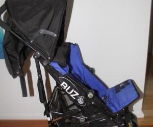 Stroller - Veebee blue and black