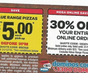 Pizza discount card