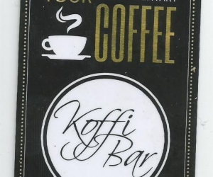 Coffee voucher, free delivery.