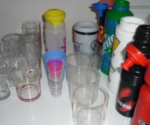 Glass and Plastic ware