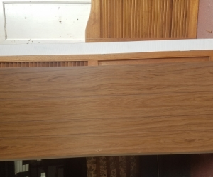 Assorted shelving/cupboard backing/cupboard doors