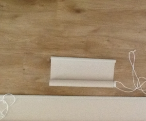 Pair of roller blinds