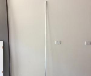 Extendable metal rod