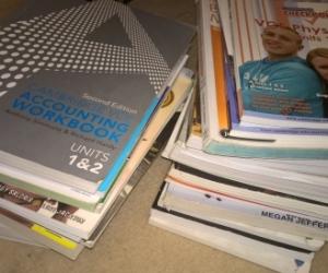 Various Secondary School Text Books