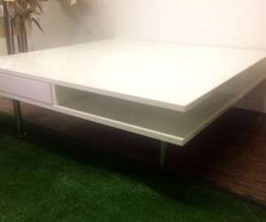 White Large Coffee Table, COLLINGWOOD, VIC