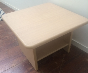 Small wooden coffee table, COLLINGWOOD, VIC