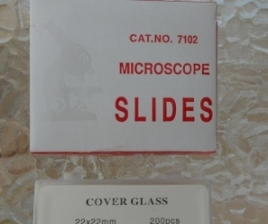 microscope slides and cover glass NEW
