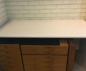 Office Desk - Beige